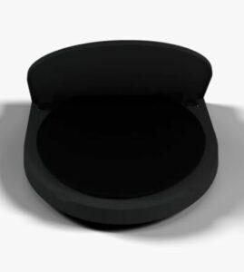 Black eclipse